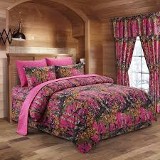 camo home decor the woods hot pink camouflage queen 8pc premium luxury comforter
