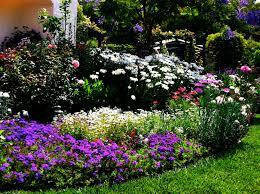 Backyard Flower Bed Designs Triyae Com U003d Simple Backyard Flower Gardens Various Design