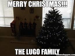 Family Christmas Meme - merry christmas the lugo family meme custom 5933 memeshappen