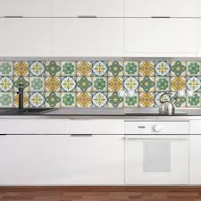 kitchen backsplash stickers moroccan tiles stickers set of 4 tiles tile decals for