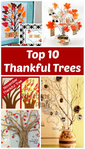 Decorative Trees For The Home by Top 10 Thankful Trees For Thanksgiving Thankful Tree Gratitude