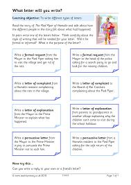 eyfs ks1 ks2 letter writing teachit primary