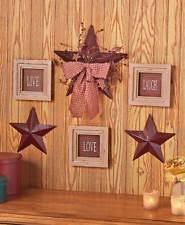 Rustic Primitive Home Decor Unbranded Wooden Rustic Primitive Home Décor Plaques Signs Ebay