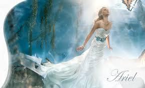 ariel wedding dress alfred angelo bridal disney princess