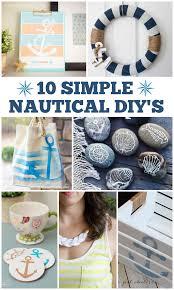 Diy Nautical Decor 10 Simple Nautical Diy U0027s Love And Marriage