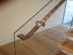 stairart glass and stainless steel on floating stairs