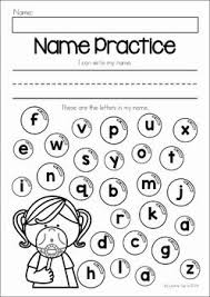 Summer Review Preschool No Prep Worksheets  amp  Activities  Name writing and identifying letters from my