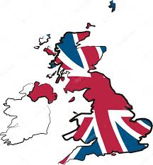 great britain flag and map u2014 stock vector ciuciumama 35709517