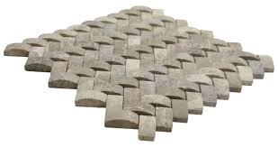 3d brown marble basket weave stone tile pebble tile shop