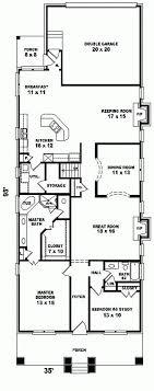 narrow lot cottage plans awesome ideas narrow lot house plans coastal 6 home plans