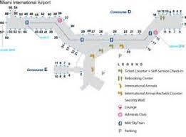 miami airport terminal map tucson international airport terminal map international airport