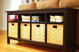 storage shelves with baskets sofa nice sofa table with storage baskets ikea tables black sofa