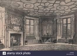 the circular dining room longford castle wiltshire 1915 artist
