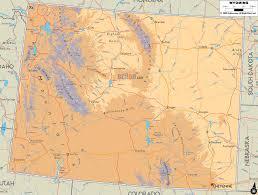 Physical Map Of Colorado by Ezilon Maps Colorado For