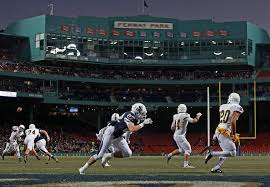 fenway to host two school football the day before