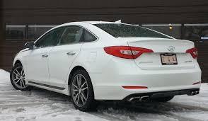 hyundai sonata 2 0 turbo test drive 2016 hyundai sonata sport 2 0t the daily drive