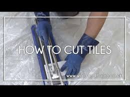 how to cut tiles cutting wall and floor tiles