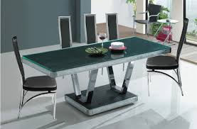table beautiful glass dining table dwell trendy glass dining