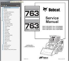 bobcat 763 wiring schematic bobcat skid steer parts breakdown