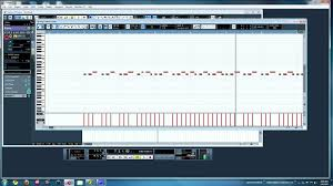 tutorial drum download to make drums with the midi editor in cubase 5 tutorial