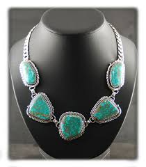 turquoise necklace images Blue turquoise necklace durango silver co jpg