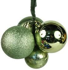 green ball cluster ornament u2013 paul michael company