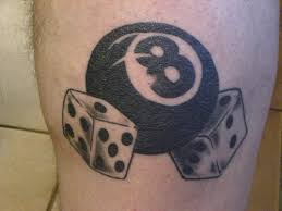 eight ball tattoo designs and eight ball tattoo meaning busbones