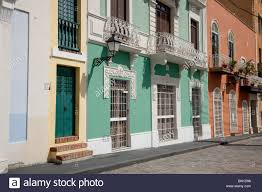 colonial architecture streets with colonial architecture in san juan