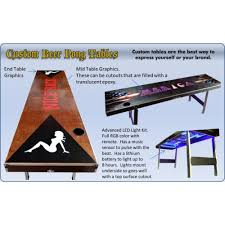Beer Pong Table Length by Folding Beer Pong Table