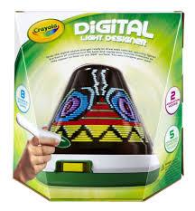 new crayola digital 3d light designer toys games arts crafts draw
