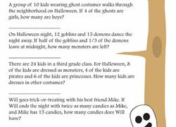 halloween worksheets u0026 free printables page 8 education com