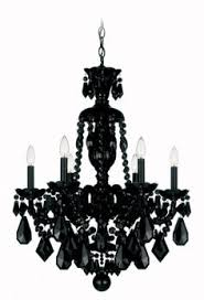 Small Black Chandelier Fancy Black Crystal Chandeliers 36 On Small Home Remodel Ideas