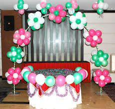 interior design balloon themed birthday party decorations cool