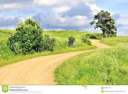 empty rural landscape beautiful road background stock photography