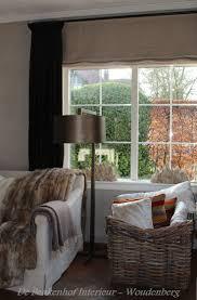Country Living Room Curtains 7 Best Optrekgordijnen Images On Pinterest Belgian Style