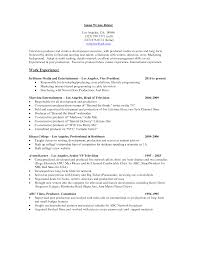 Resume Samples Vice President Marketing by Resume Pandora Resume For Your Job Application