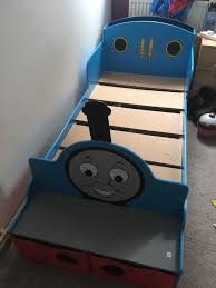 Thomas The Tank Engine Bed Wooden Thomas The Tank Toddler Bed In Coventry West Midlands