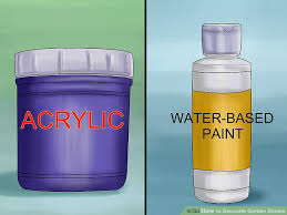 Decorate Water Bottle How To Decorate Garden Stones With Pictures Wikihow