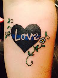 best 25 police wife tattoo ideas on pinterest igy6 tattoo