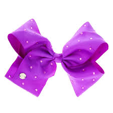 hair bows jojo siwa large purple signature hair bow s