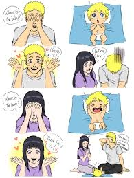 Hinata Memes - naruto and hinata play peek a boo with boruto naruto know your meme