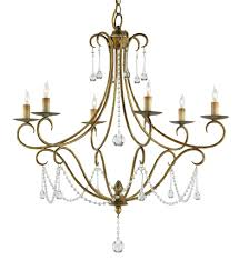currey u0026 company 9192 agostina 6 light chandelier with rhine