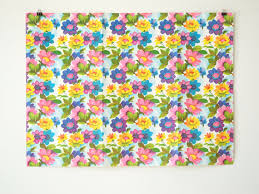 vintage wrapping paper vintage gift wrap with flowers vintage wrapping paper vintage