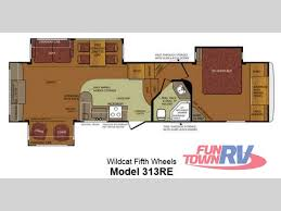new 2013 forest river rv wildcat 313re fifth wheel at fun town rv
