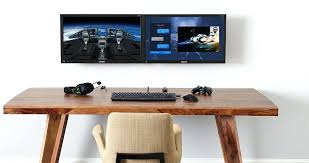 tv and computer desk full motion wall mount for computers desktop computer tv monitor