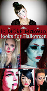 10 More Makeup Looks For Halloween Creepy Cute And Unique Ideas
