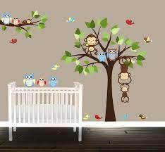 stickers arbre chambre enfant playin sur larbre chambre denfant stickers chouette
