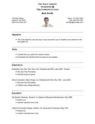 Resume Creator Online Free Resume Image Resume Style 28 Free Resume Creator