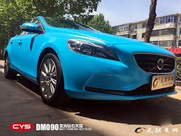 volvo official website volvo v40 dm090 matt sky blue gallery cys vehicle film