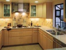 Stripping Kitchen Cabinets Restaining Kitchen Cabinets Pictures Options Tips U0026 Ideas Hgtv